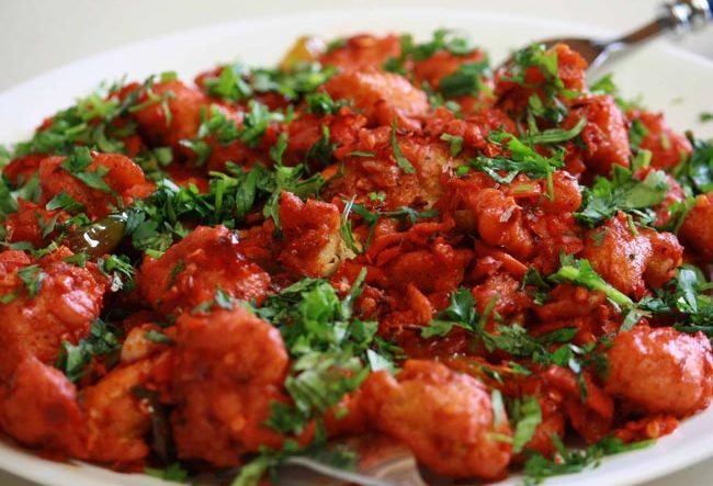Hyderabad Chicken 65