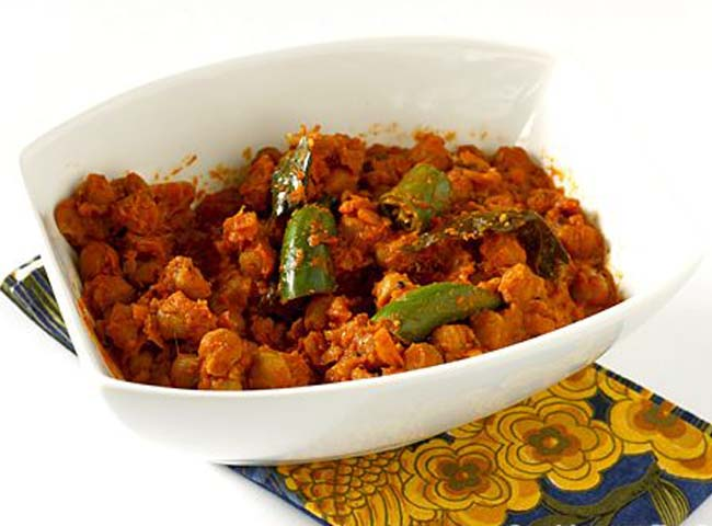 Chole Bhindi
