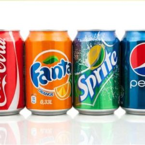 Sodas Coke/Fanta/Sprite
