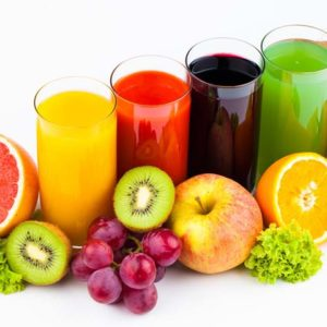 Seasonal Fresh Fruit Juice