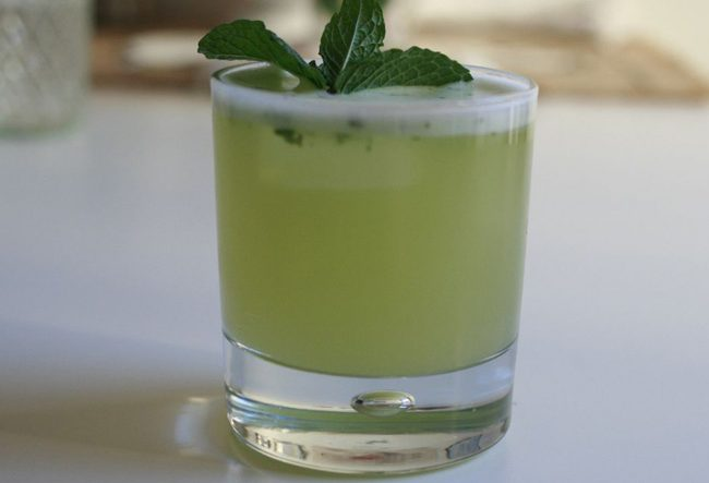Fresh Lime & Mint Juice