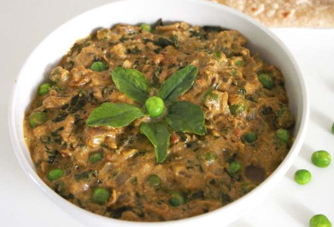 Methi Malai Mutter Saag